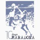Diego Maradona by scotzine