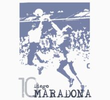 Diego Maradona by scotzine