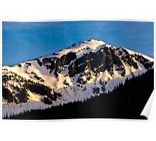 Alaskan Mountain Poster