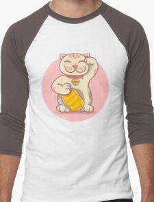 lucky cat Men's Baseball ¾ T-Shirt