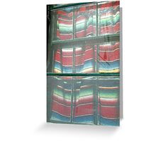 El Serape Greeting Card