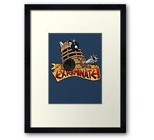 Dalek Tattoo Framed Print