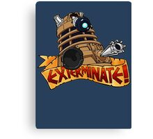 Dalek Tattoo Canvas Print