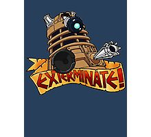 Dalek Tattoo Photographic Print