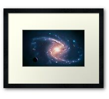 Barred Spiral NGC 1365 Framed Print