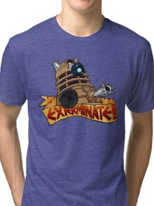 Dalek Tattoo Tri-blend T-Shirt