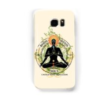 Mind Body and Soul KUNDALINI Samsung Galaxy Case/Skin