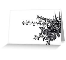 Infusion White Greeting Card