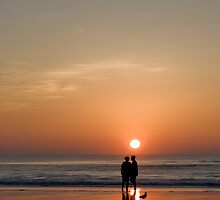 Couple Watching the Sunrise by Joe Norman