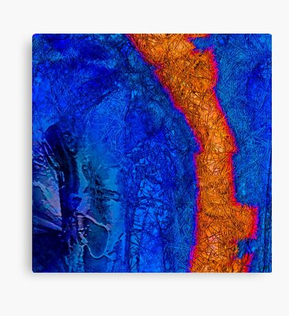 Blue Force Canvas Print