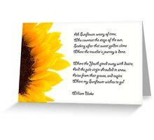 Ah Sunflowers Greeting Card