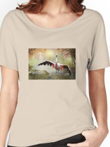 Pretty Flamingo Women's Relaxed Fit T-Shirt