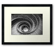 Michelangelo's stairs Framed Print