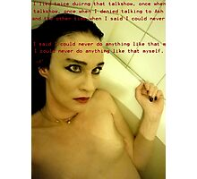 Bath Quotes 6 Photographic Print