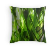 Broccoli Forest Throw Pillow