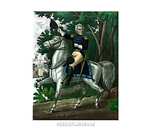 General Andrew Jackson On Horseback Photographic Print