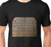 Scripture on stone wall Unisex T-Shirt