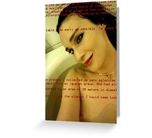 Bath Quotes 8 Greeting Card