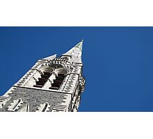 Christchurch Cathedral Spire Photographic Print