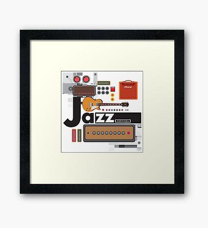 I love jazz 1 Framed Print