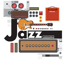 I love jazz 1 Photographic Print