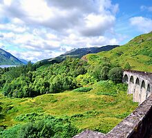 The Jacobite Across Glenfinnan Viaduct by Andrew Ness - www.nessphotography.com
