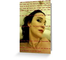 Bath Quotes 9 Greeting Card