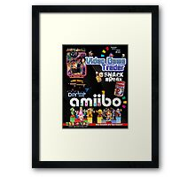 Video Game Trader #33 Cover Design  Framed Print