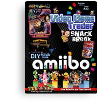 Video Game Trader #33 Cover Design  Canvas Print