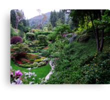 Sunken Garden No.1 Canvas Print
