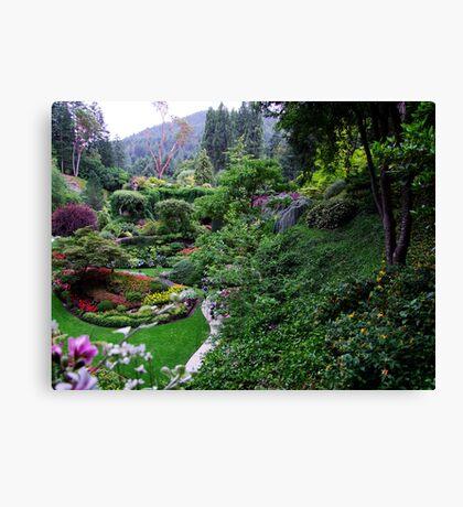 Sunken Garden No.1 Canvas Print