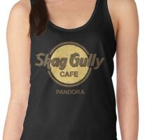 Skag Gully Cafe (distressed) Women's Tank Top