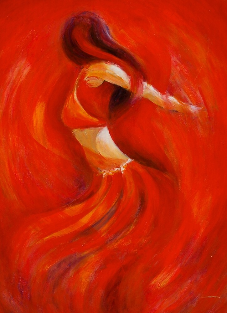 dancing flame by gerardo segismundo