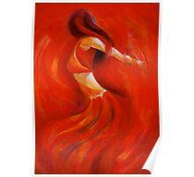 dancing flame Poster