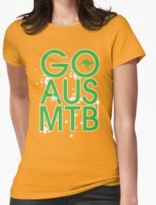 GO AUS MTB Womens Fitted T-Shirt