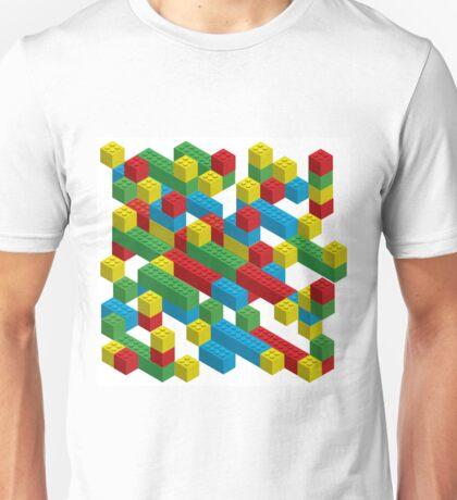 colorfull blocks pattern Unisex T-Shirt