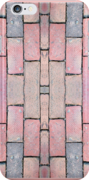 Brick Abstract by Judi FitzPatrick