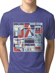 I love jazz 3 Tri-blend T-Shirt