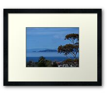 The Noises Islands......Auckland outer harbour.......! Framed Print