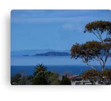 The Noises Islands......Auckland outer harbour.......! Canvas Print