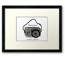 Photography Fun Framed Print