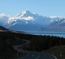 Road to Mt. Cook by marklincoln