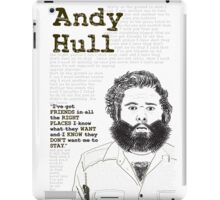 Manchester Orchestra - Andy Hull iPad Case/Skin