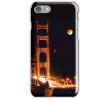 Golden Gate Night iPhone Case/Skin