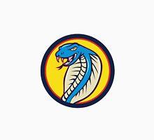 Cobra Viper Snake Head Attacking Circle Cartoon Unisex T-Shirt