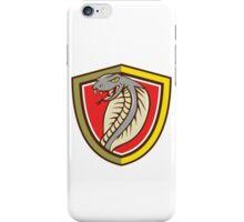Cobra Viper Snake Head Attacking Shield Cartoon iPhone Case/Skin
