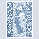 Blue Silver Angel 14th May 2015 by Donna Huntriss