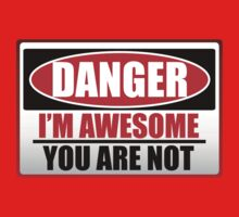 Danger I'm Awesome Kids Clothes
