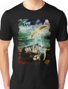 Free At Last (With Text) T-Shirt