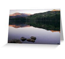 Upper Payette Lake Greeting Card